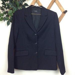 J. Crew Classic Black School Boy 3-Button Blazer